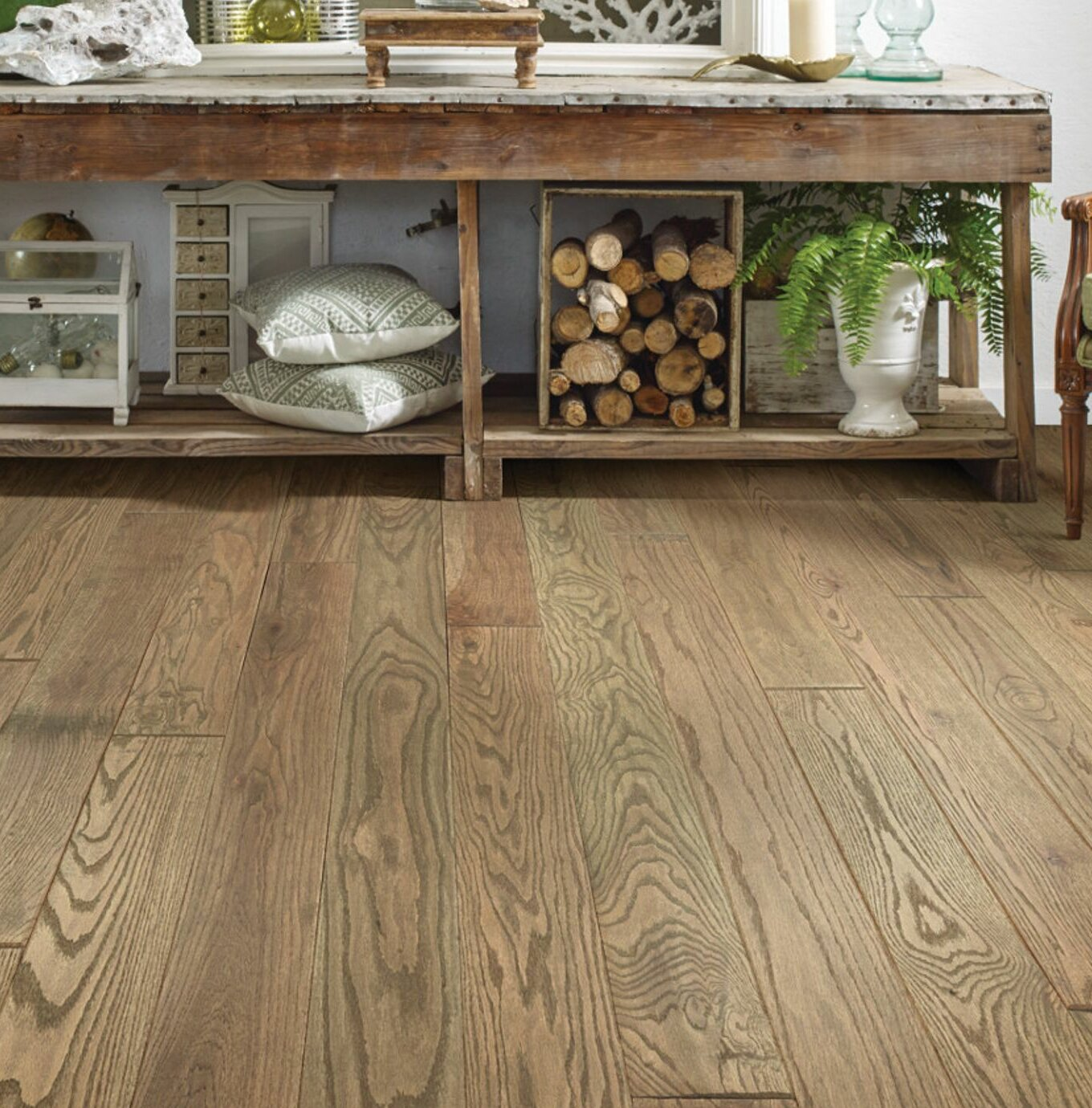 Shaw Floors Mountain Oak 3 8 Thick X 5 Wide X Varying Length