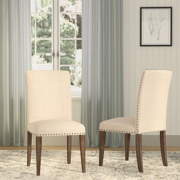 Wilmington Upholstered Dining Chair (Set Of 2) By Darby Home Co
