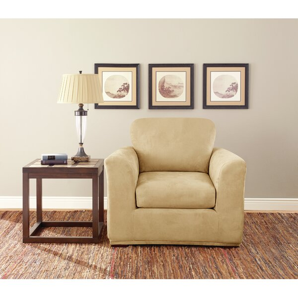 Box Cushion Armchair Slipcover (Set Of 3) By Sure Fit