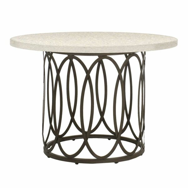 Ella Wrought Aluminum Dining Table Base by Summer Classics