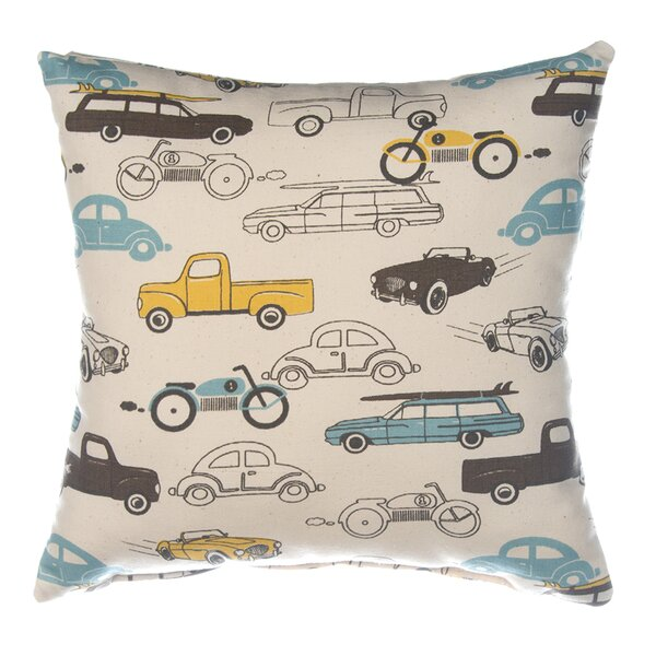 Traffic Jam Throw Pillow by Sweet Potato by Glenna Jean