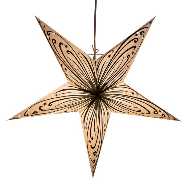 Swirl Power Paper Star Light by Hometown Evolution, Inc.