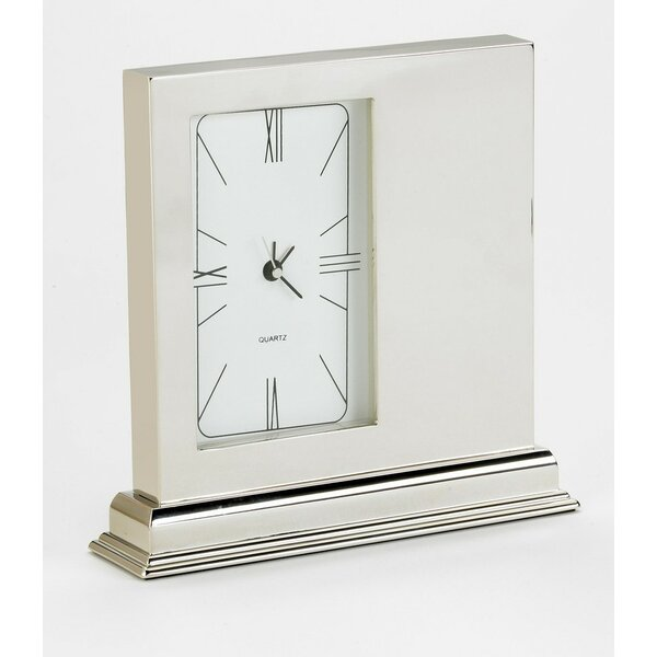 Metal Mantel Clock by Orren Ellis