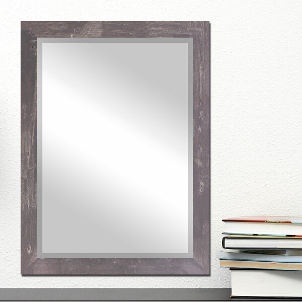 Katalina Industrial Wall Mirror by Bungalow Rose
