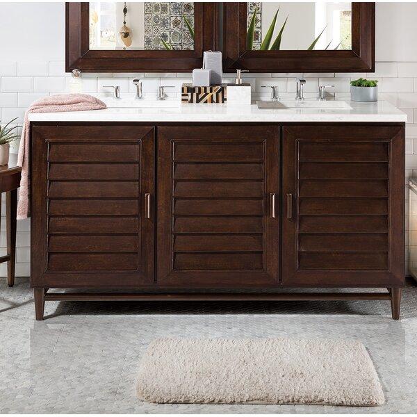 Neuhaus 60 Double Bathroom Vanity Set by Beachcrest Home