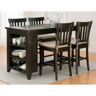 Annmarie 5 Piece Pub Table Set By Canora Grey