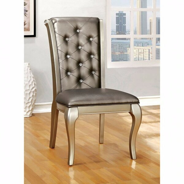 Bucknell Solid Wood Upholstered Dining Chair (Set Of 2) By Rosdorf Park