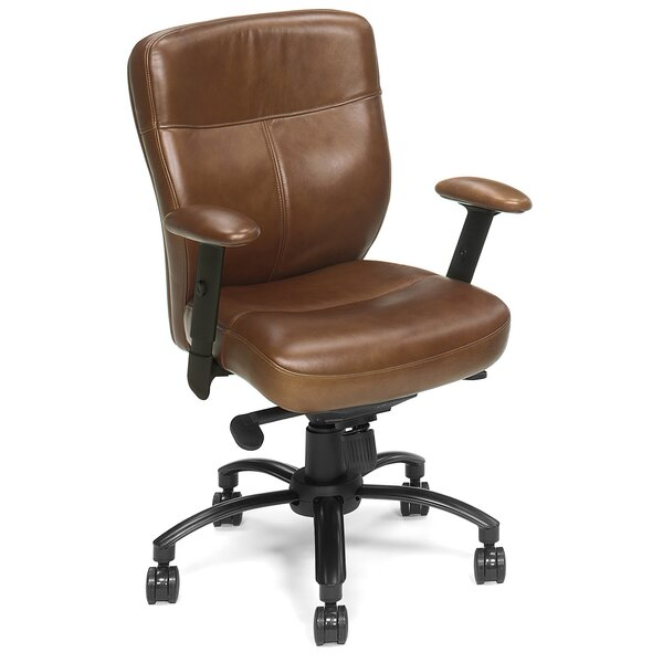 Genuine Leather Office Chair by Hooker Furniture