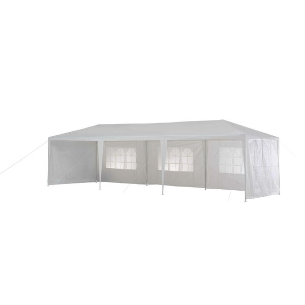 10 Ft. W x 29.5 Ft. D Steel Budget Party Tent Canopy by Sunjoy