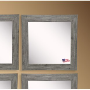 Rayne Mirrors Barnwood Wall Mirror (Set of 4)