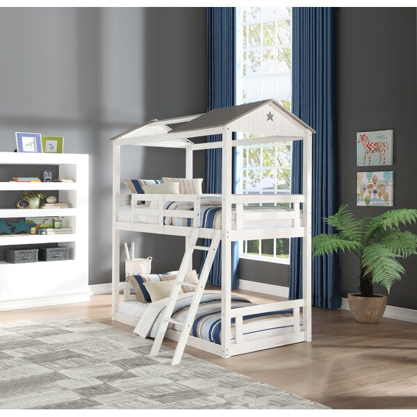 Fryar Twin over Twin Bunk Bed by Harriet Bee