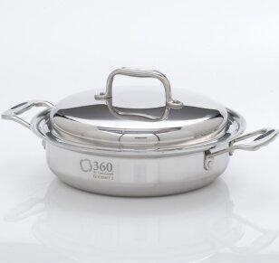 360 Cookware 2.3-qt. Round Casserole by 360 Cookware