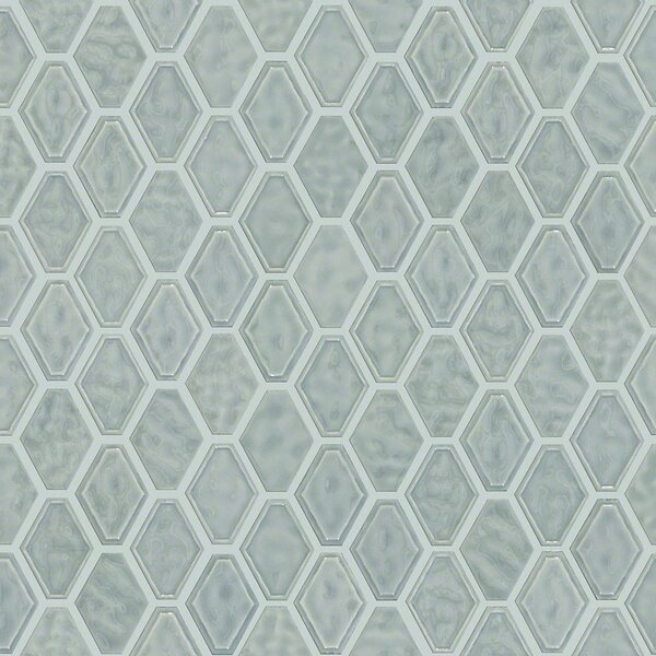 Victoria Diamond 0.5 x 0.5 Ceramic Mosaic Tile in Gray by Shaw Floors