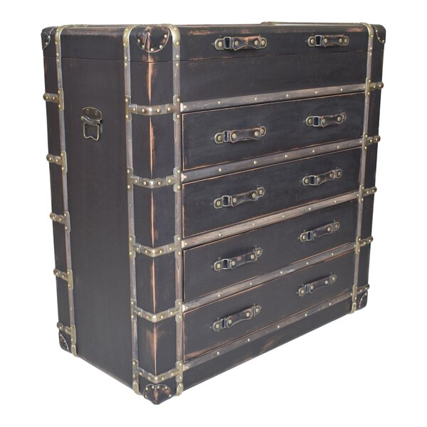 Jonas 4 Drawer Accent Chest by 17 Stories