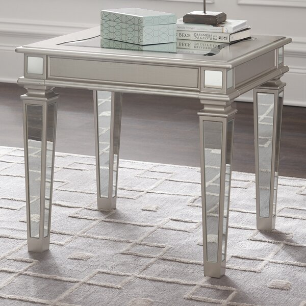 Thaddeus End Table by House of Hampton