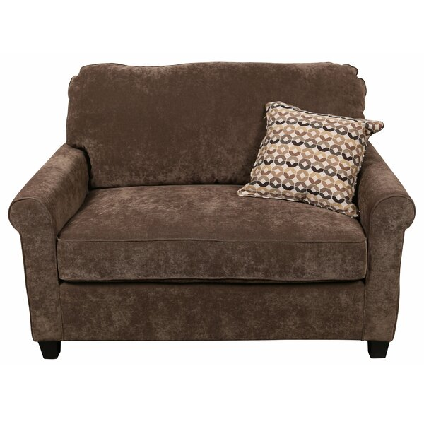 Serafin Sleeper Sofa Bed Loveseat by Charlton Home Charlton Home