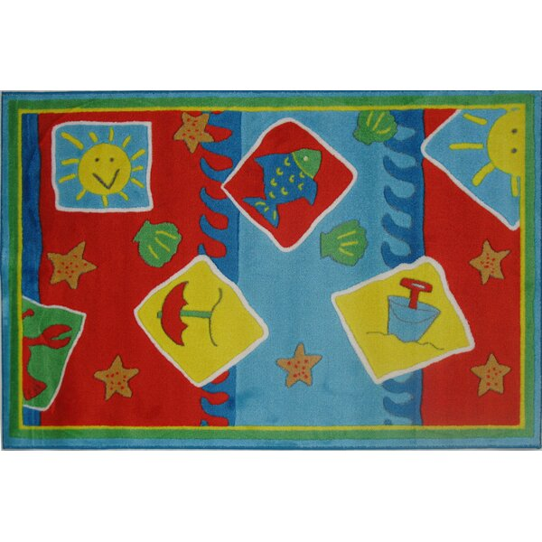 Jade Reynolds Beach Blanket Kids Rug by Fun Rugs