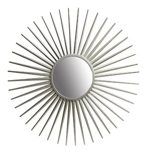 Wrought Studio Hagy Sunray Wall Mounted Mirror