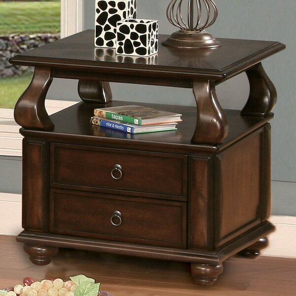 Chulmleigh 2 Drawer End Table By Canora Grey