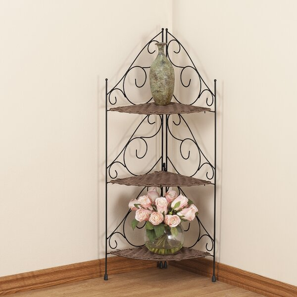 3 Tier Corner Unit Bookcase by Miles Kimball