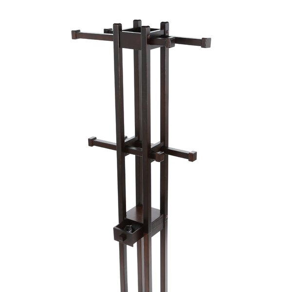 Sheila Coat Rack in Dark Walnut by Latitude Run