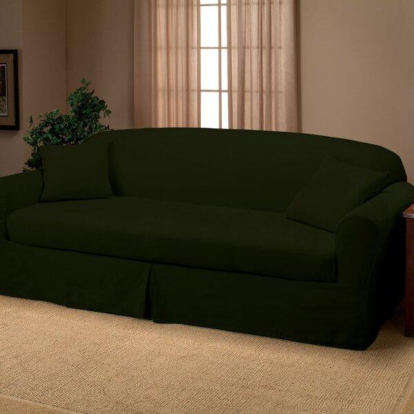 Goliath Box Cushion Sofa Slipcover by Red Barrel Studio