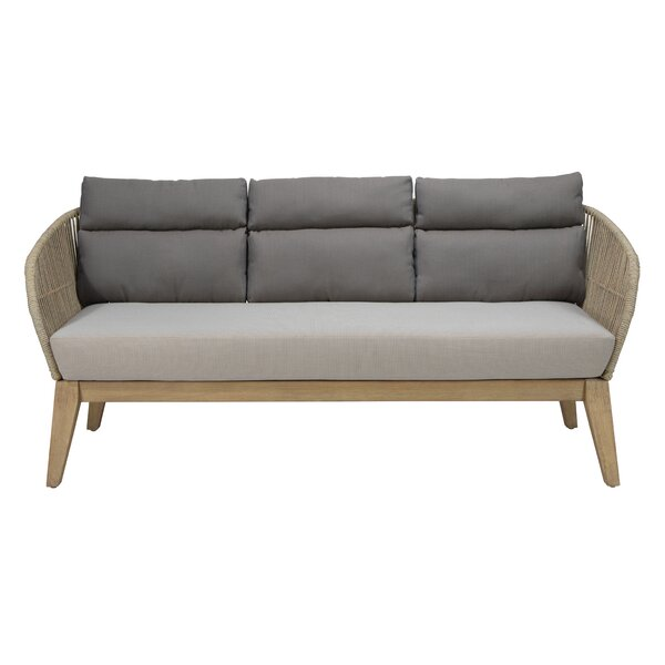 Explorer Fuego Patio Sofa with Cushions by Seasonal Living