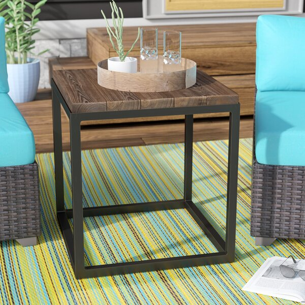 Idella Metal Side Table by Union Rustic