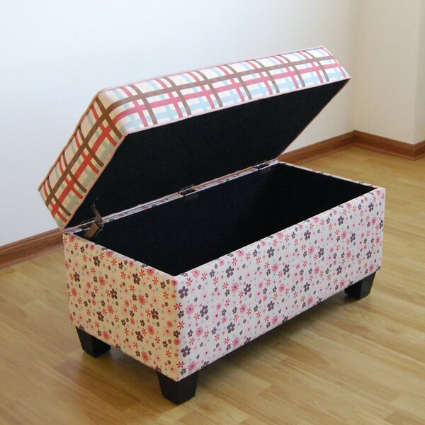 Portillo Upholstered Storage Bench by Harriet Bee