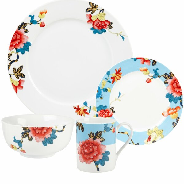 Isabella 16 Piece Dinnerware Set by Spode