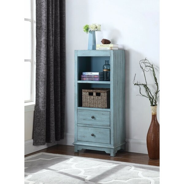 Suero Well-Made Wooden 2 Drawer Accent Cabinet