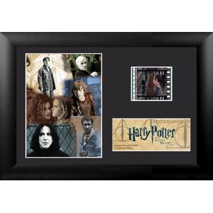 Harry Potter 7 Part 2 Mini FilmCell Presentation Framed Vintage Advertisement by Trend Setters