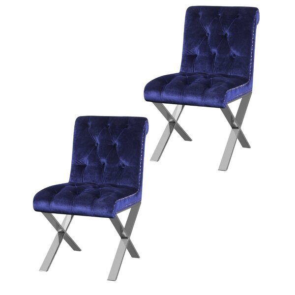 Anglin Side Chair (Set of 2) by Everly Quinn