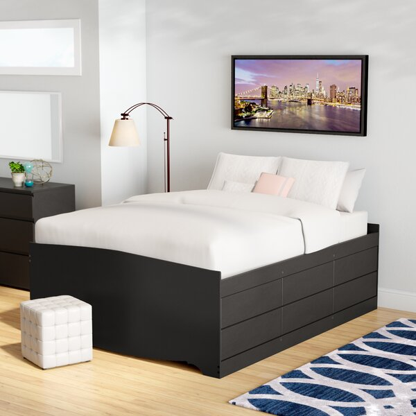 Nolanville Queen Storage Platform Bed by Harriet Bee
