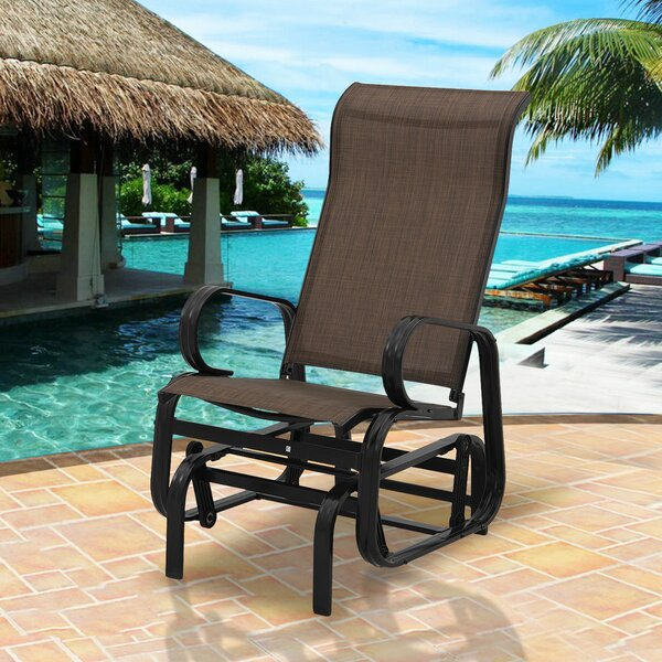 Riaria Patio Garden Rocking Chair by Winston Porter