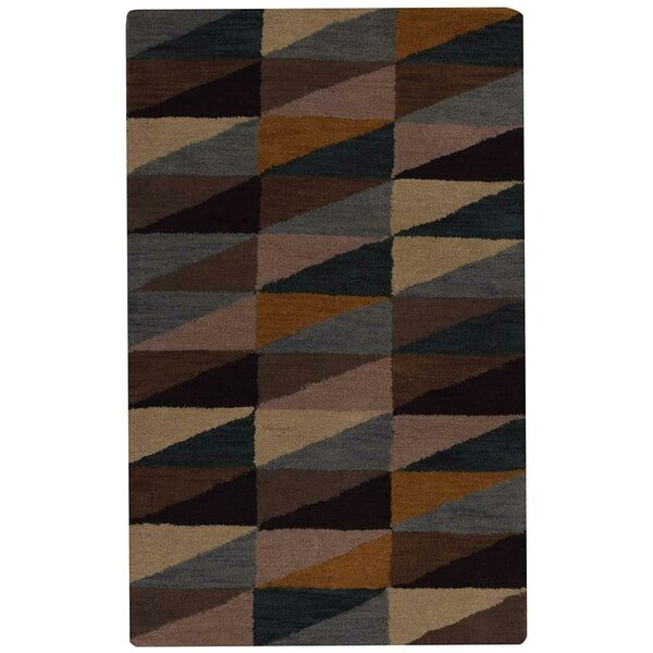 Rocky Hand-Tufted Wool Beige/Gray/Green Area Rug by George Oliver