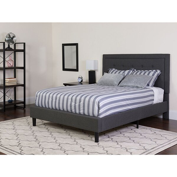 Maulik King Upholstered Platform Bed By Winston Porter by Winston Porter Great Reviews