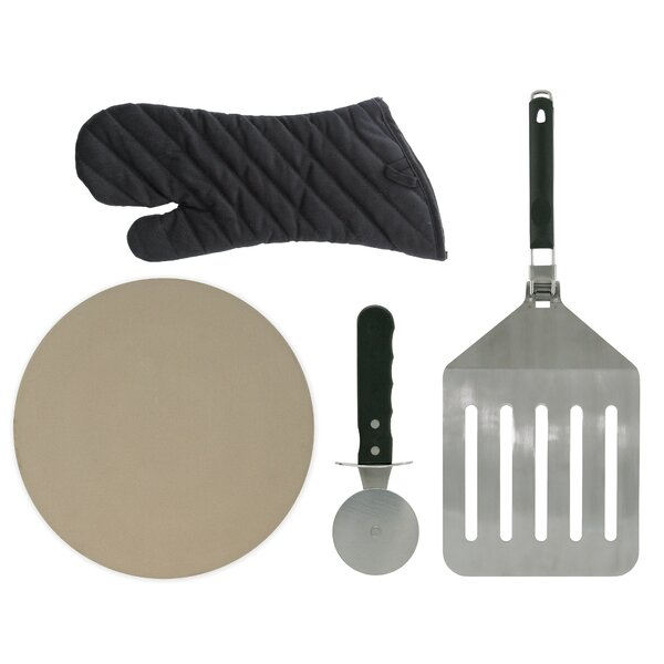 Classic Prestige 3-Piece Non-Stick Fajita Pan Set by Mr. Bar-B-Q