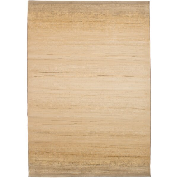Grogg Power Loom Ivory Area Rug by Williston Forge