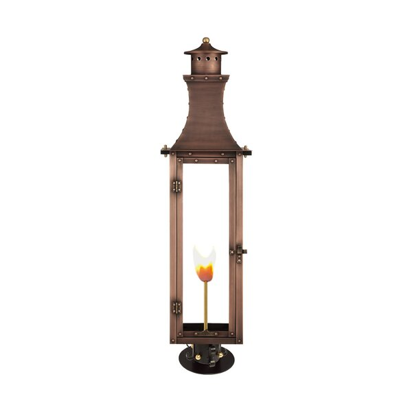 Haskell Aged Copper Lantern Head by Longshore Tides