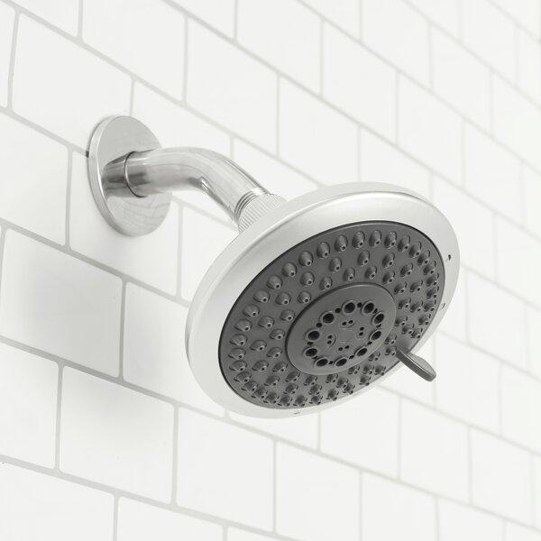 Pilsen Luxury Retreat 5 Function Rain Fixed Shower Head By Symple Stuff