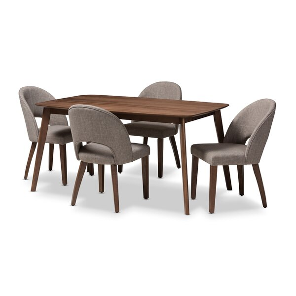 Dall 5 Piece Dining Set by Corrigan Studio