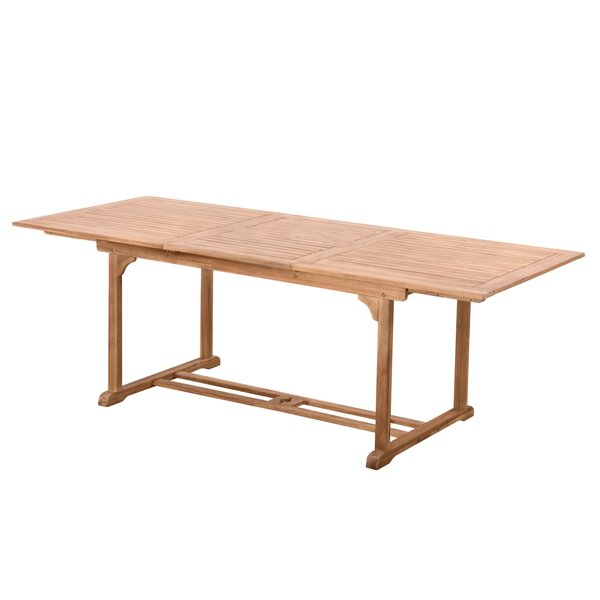 Montmiral Teak Dining Table by August Grove