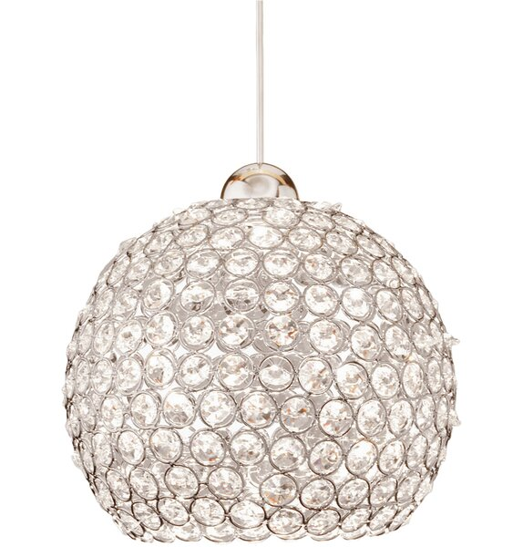 Crystal Roxy 1-Light Crystal Pendant by WAC Lighting