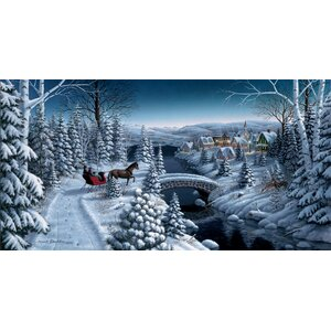 'Peace on Earth' by Mark Daehlin Painting Print by Hadley House Co