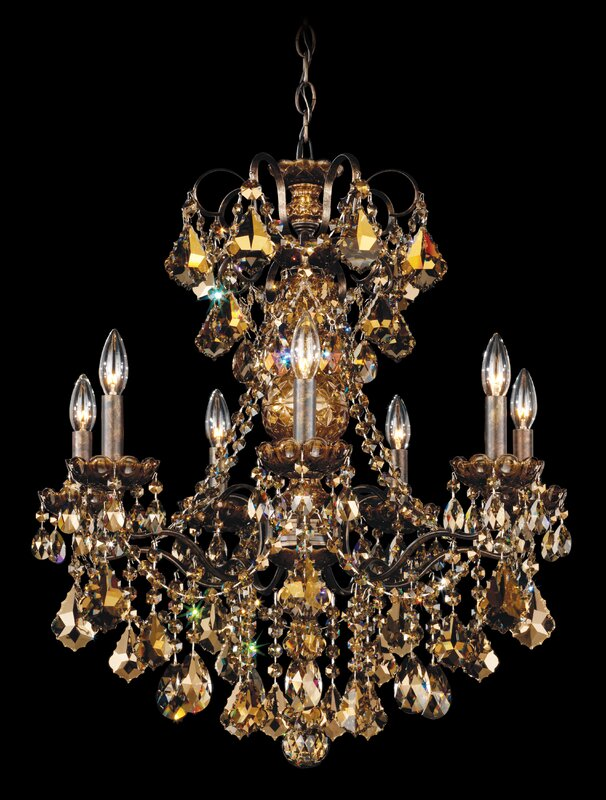 Schonbek New Orleans 7-Light Candle-Style Chandelier & Reviews ...