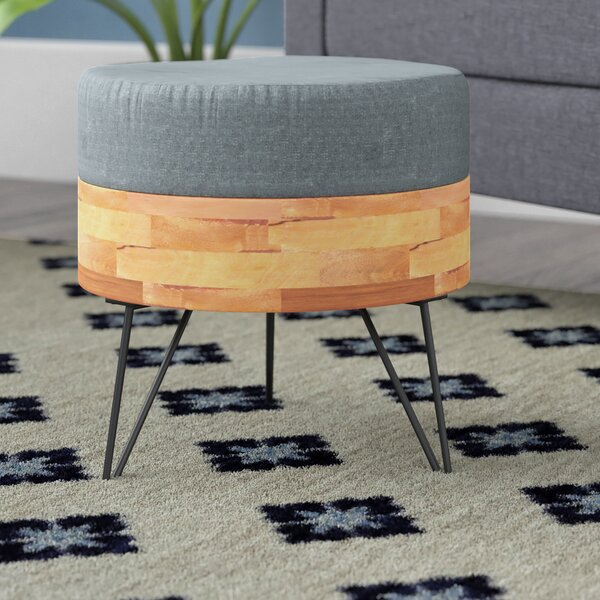Andrew Ottoman by Modern Rustic Interiors