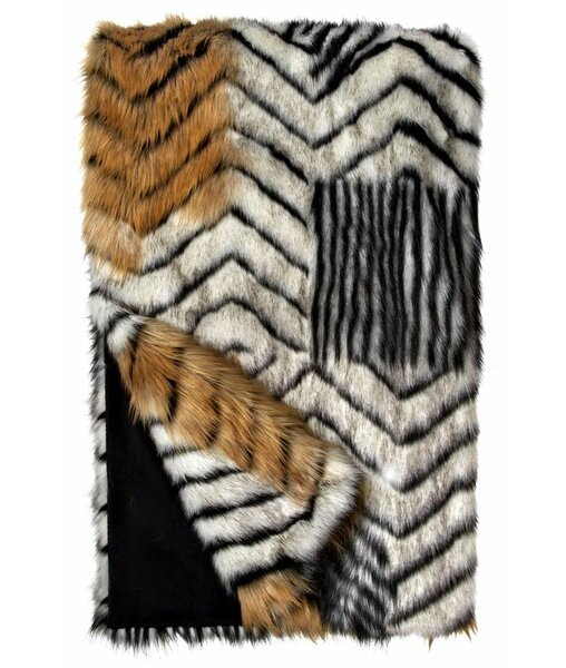 Limited Edition Fox Faux Fur Throw by Donna Salyer's Fabulous-Furs