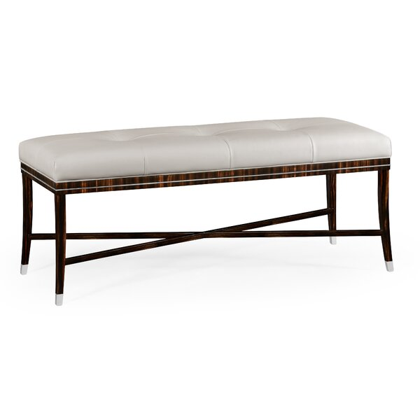 Upholstered Bench by Jonathan Charles Fine Furniture