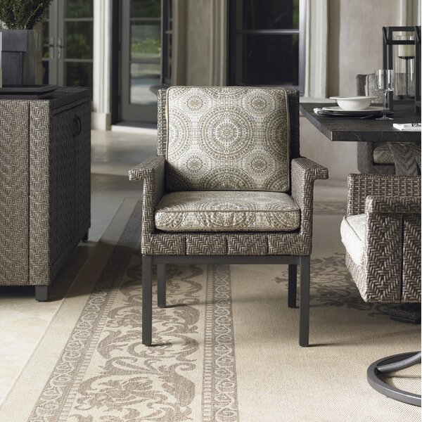 Olive Patio Dining Chair with Cushion by Tommy Bahama Outdoor